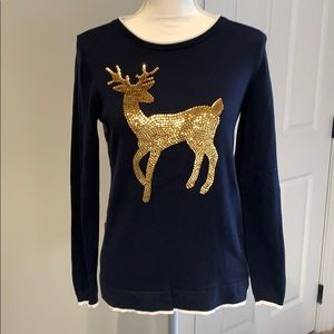 Crown & Ivy xs reindeer sweater